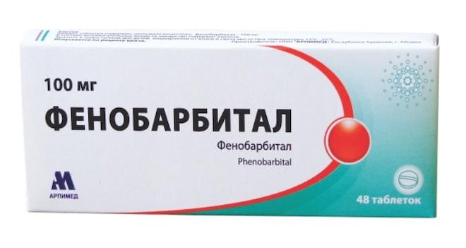 Снотворное Фенобарбитал