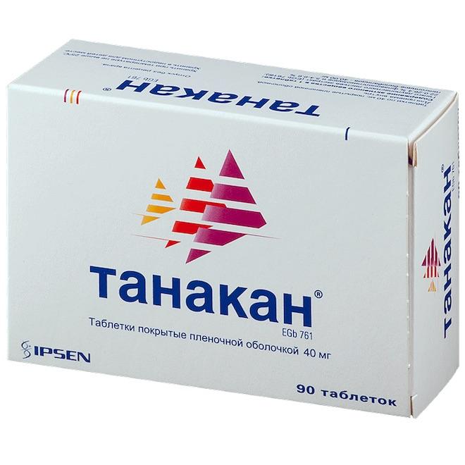 Снотворное Танакан