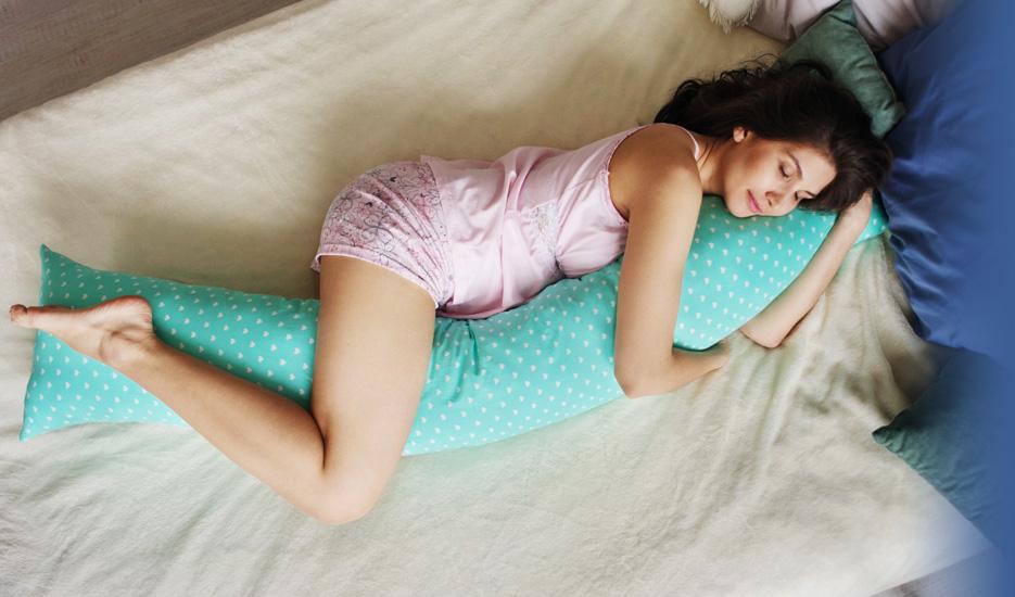 Преимущества подушек-обнимашек